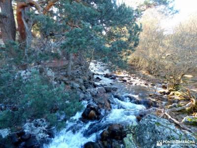Cascadas Purgatorio;Bosque de Finlandia; rutas por las hoces del duraton el atazar embalse pedriza d